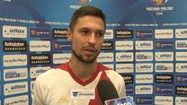 Bartłomiej Kalinkowski (ŁKS) po meczu z Lechem: Byliśmy bardzo blisko. Wideo