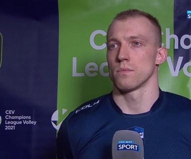 Bartłomiej Kluth (ZAKSA): Bardzo się cieszę, że mogę się pokazać w rozgrywkach Ligi Mistrzów (POLSAT SPORT). Wideo