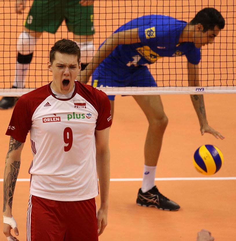 Bartłomiej Lemański ma znakomite warunki fizyczne /www.fivb.org