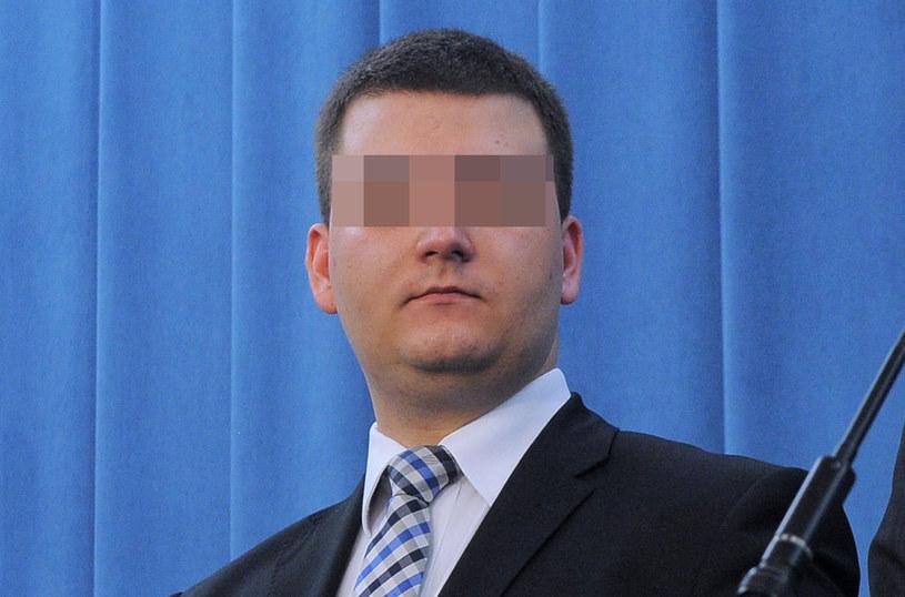Bartłomiej M., były rzecznik prasowy MON za czasów Antoniego Macierewicza /Adam Chełstowski /Agencja FORUM