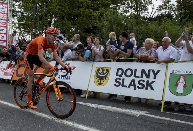 Bartłomiej Matysiak podczas mistrzostw Polski w Sobótce /Aleksander Koźmiński /AFP