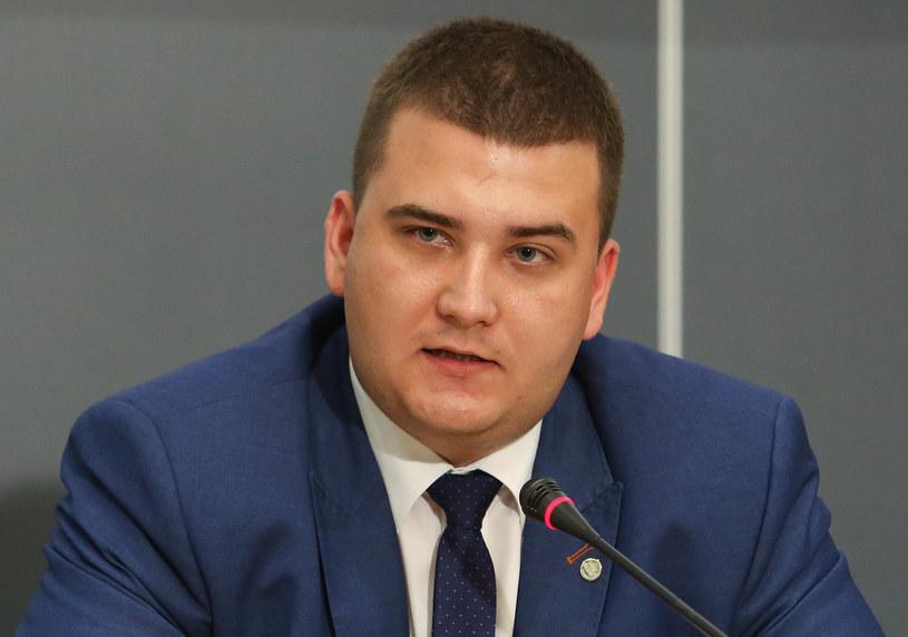 Bartłomiej Misiewicz, rzecznik MON /Polska Press /East News