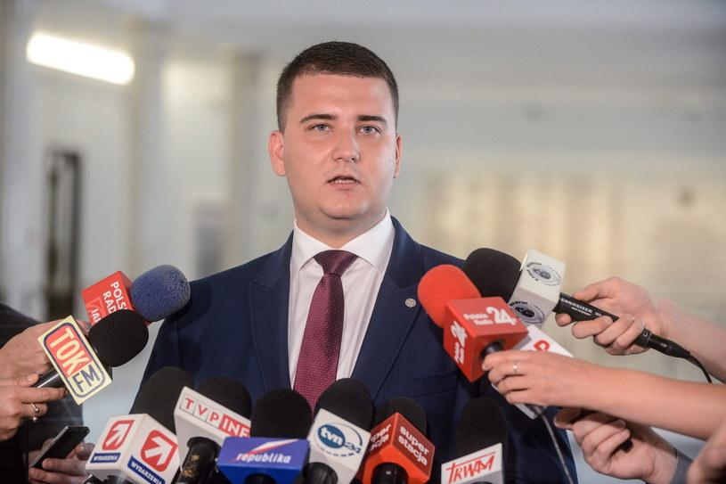 Bartłomiej Misiewicz /Jakub Kamiński   /PAP