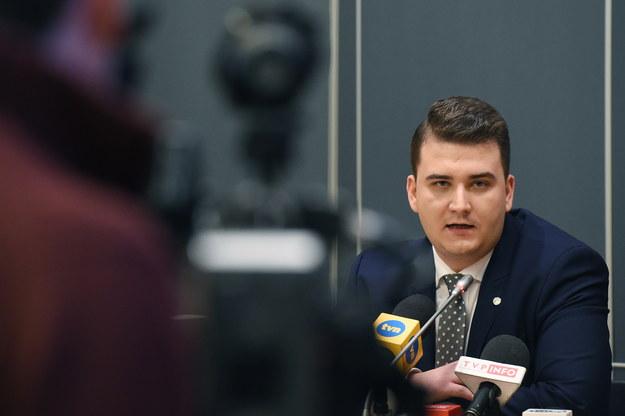 Bartłomiej Misiewicz /PAP/Radek Pietruszka    /PAP