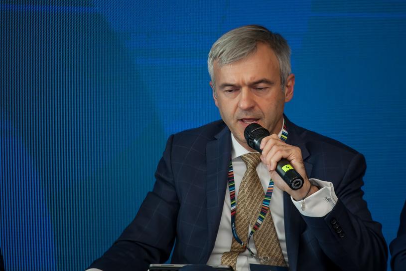 Bartłomiej Pawlak, wiceprezes Polskiego Funduszu Rozwoju, fot. Ireneusz Rek /INTERIA.PL