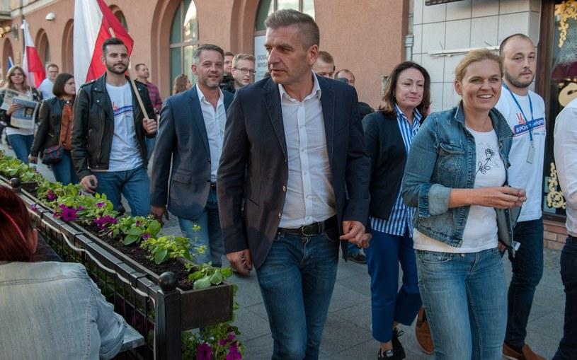 Bartosz Arłukowicz i Barbara Nowacka /Mateusz Banel /Reporter