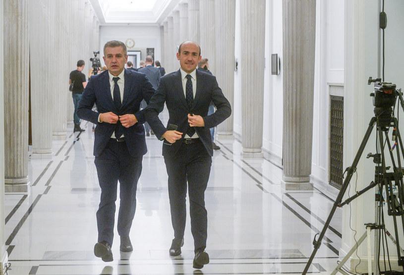 Bartosz Arłukowicz i Borys Budka /Jan Bielecki /East News