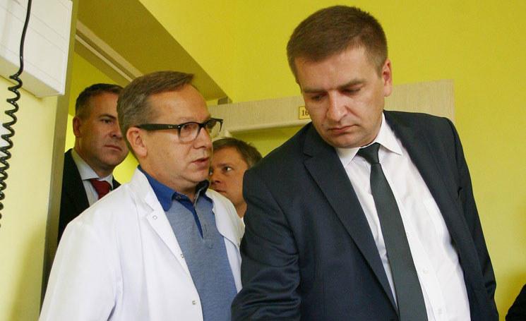 Bartosz Arłukowicz z wizyta na Podkarpaciu w Hospicjum dla dzieci/fot Wojciech Zatwarnicki /Wojciech Zatwarnicki /Reporter