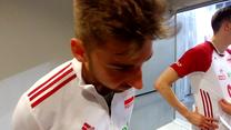 Bartosz Bednorz po meczu Polska - Niemcy. Wideo