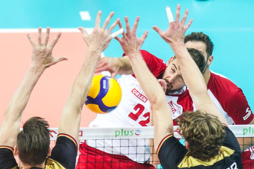 Bartosz Bednorz w ataku /Getty Images