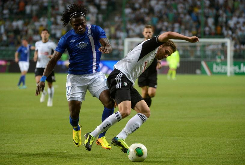 Bartosz Bereszyński podczas meczu Legii z Molde /Bartłomiej Zborowski /PAP