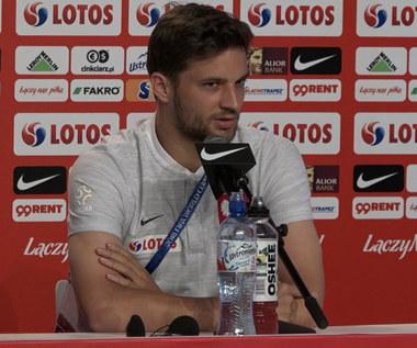 Bartosz Bereszyński przed meczem z Kolumbią. Wideo