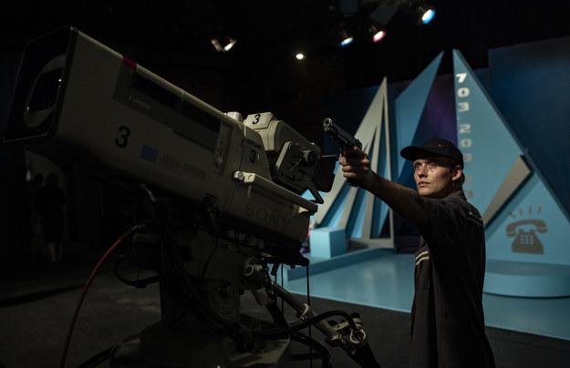 Bartosz Bielenia na planie filmu /fot_ Tomasz Kaczor/Watchout Studio /Materiały prasowe