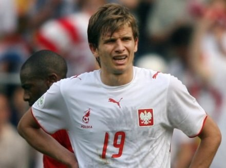 Bartosz Bosacki ma stłuczoną stopę /AFP