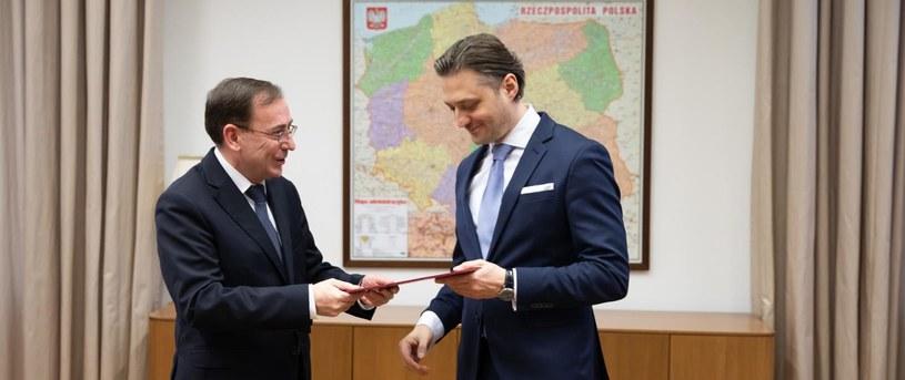 Bartosz Grodecki został podsekretarzem stanu w MSWiA /gov.pl /