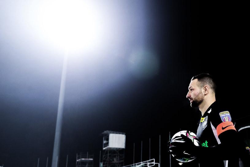 Bartosz Kieliba, kapitan Warty Poznań /JAKUB PIASECKI / CYFRASPORT / NEWSPIX.PL /Newspix