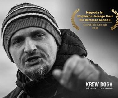 Bartosz Konopka z Nagrodą im. Wojciecha Jerzego Hasa dla Młodego Artysty