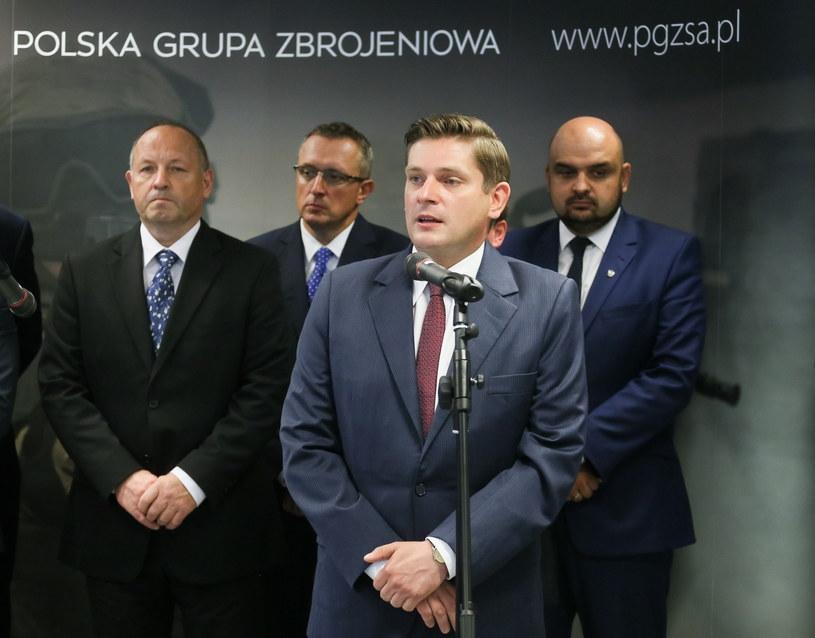 Bartosz Kownacki, wiceszef MON /Paweł Supernak /PAP