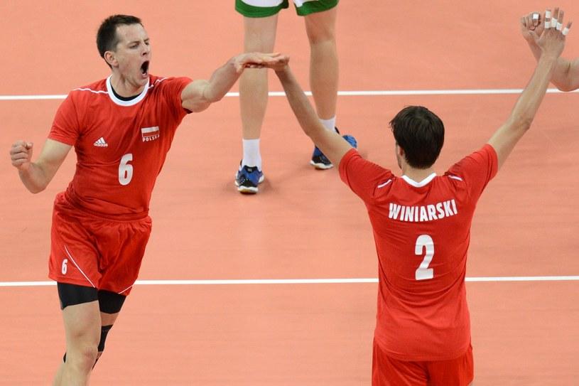 Bartosz Kurek i Michał Winiarski zagrają przeciwko Włochom /AFP