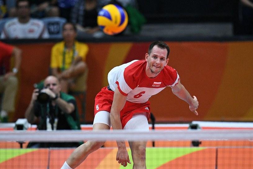 Bartosz Kurek podczas igrzysk w Rio /AFP