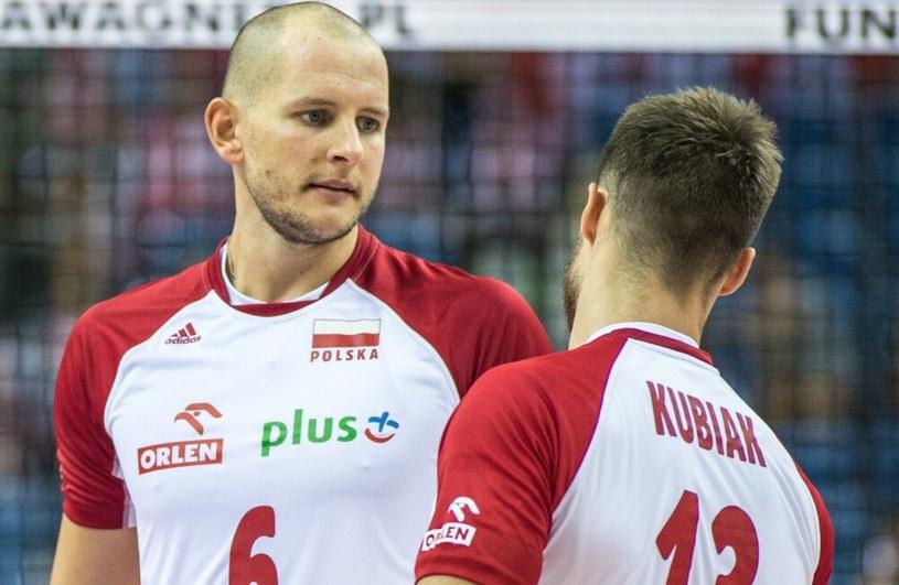 Bartosz Kurek (z lewej) i Michał Kubiak /Andrzej Iwańczuk /Reporter