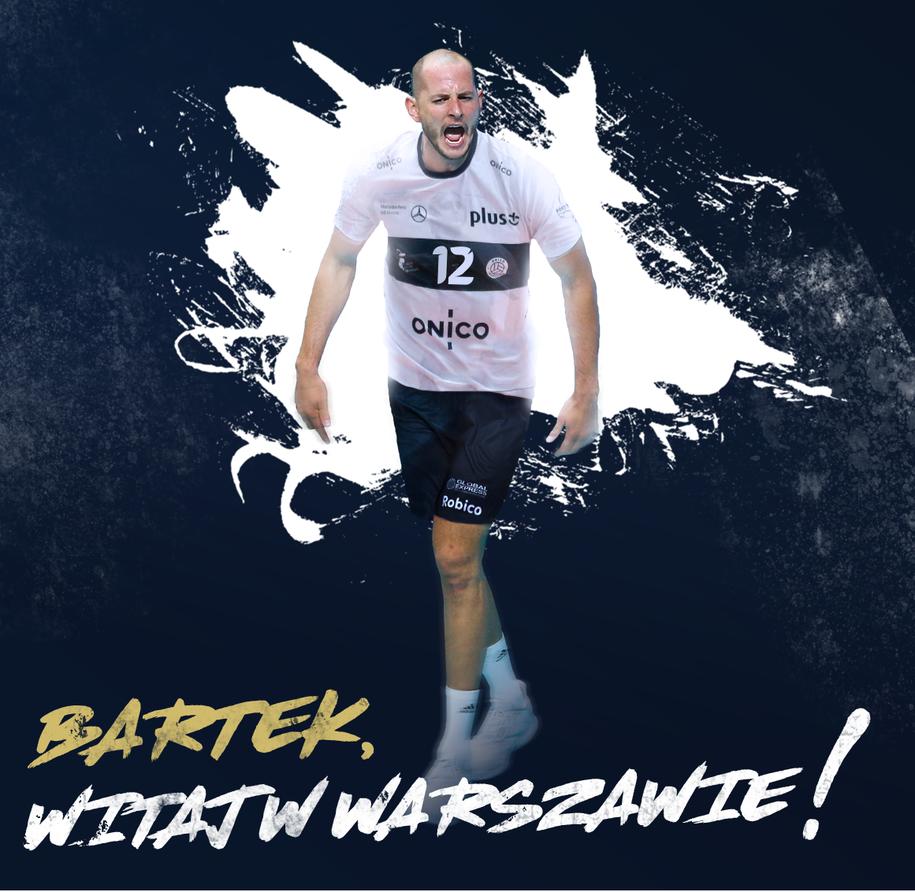 Bartosz Kurek zawodnikiem ONICO Warszawa /ONICO Warszawa /Materiały prasowe