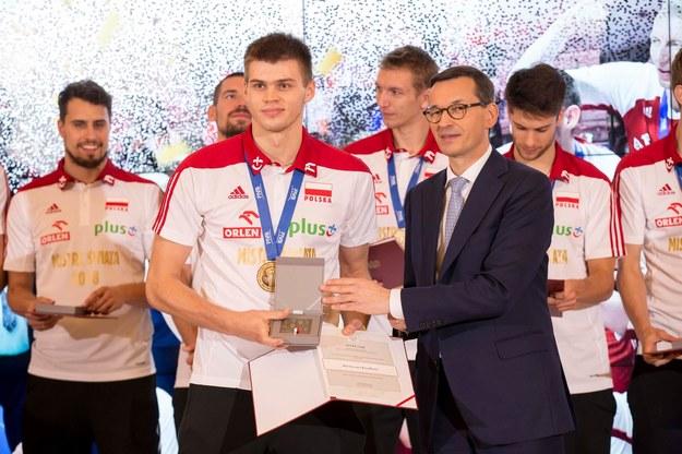 Bartosz Kwolek jest jednym z naszych mistrzów świata /PZPS /