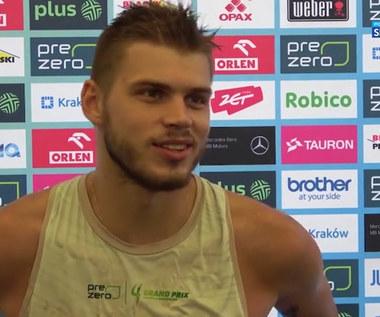 Bartosz Kwolek: Na plaży zawsze gra się przyjemnie (POLSAT SPORT) Wideo