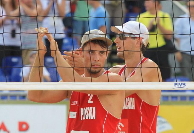 Bartosz Łosiak (z lewej) i Piotr Kantor /Tomasz Waszczuk /PAP