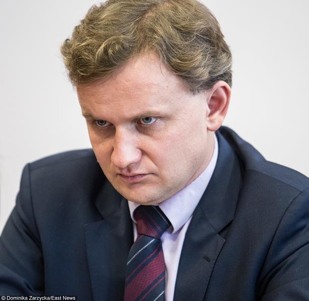 Bartosz Marczuk, wiceminister rodziny. Fot. DOMINIKA ZARZYCKA /Agencja SE/East News
