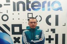 Bartosz Nosal w redakcji serwisu Sport Interia