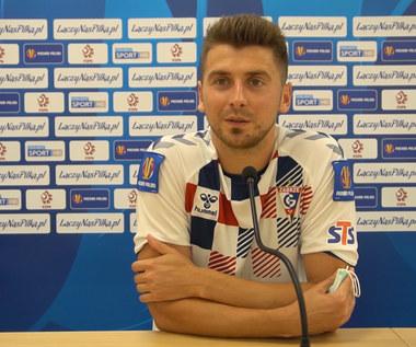 Bartosz Nowak po meczu Górnik - Jagiellonia. Wideo
