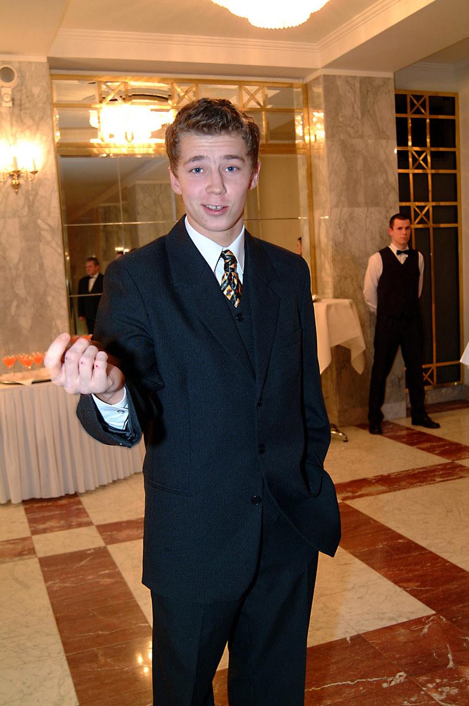 Bartosz Obuchpwicz, 2003 rok /Prończyk /AKPA