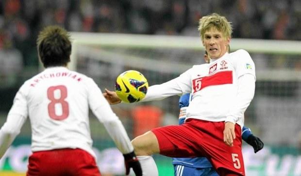 Bartosz Salamon (z prawej) ma na koncie pięć meczów w reprezentacji Polski /Mateusz Skwarczek /INTERIA.PL