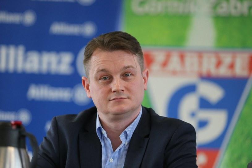 Bartosz Sarnowski, prezes Górnika /Lucyna Nenow /East News