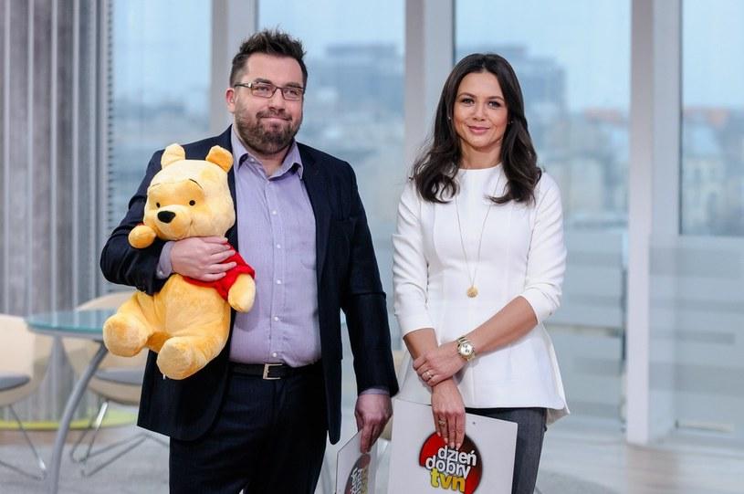 Bartosz Węglarczyk i Kinga Rusin /- /East News