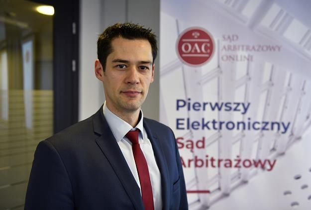 Bartosz Ziemblicki, prezes Sądu Arbitrażowego Online OAC /Informacja prasowa