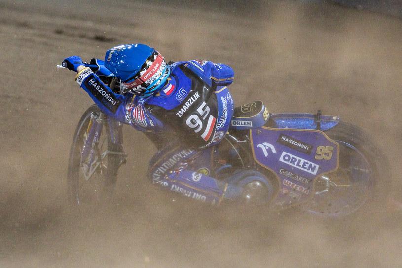 Bartosz Zmarzlik podczas rundy Grand Prix /Wojciech Tarchalski /Newspix