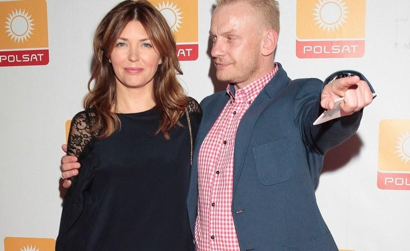 Bartosz Żukowski i Ewa Coll /Jankowski /Reporter