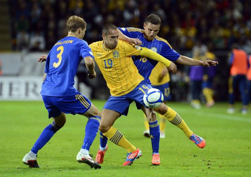Barw AS Monaco broni m.in. reprezentat Szwecji Emir Bajrami /AFP