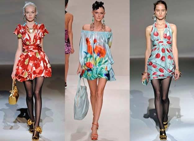 Barwne wzory są idealne na wiosnę i lato /INTERIA.PL