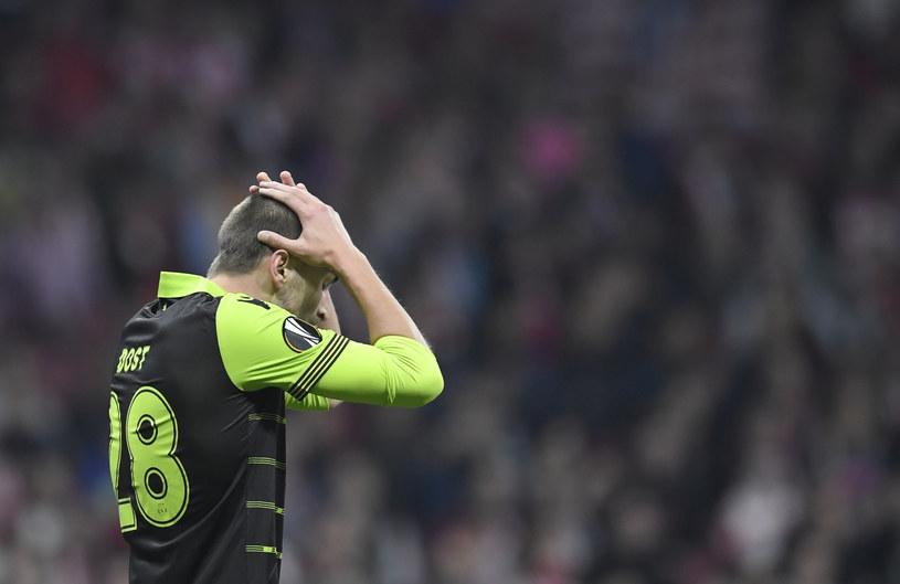 Bas Dost, napastnik Sportingu Lizbona /AFP