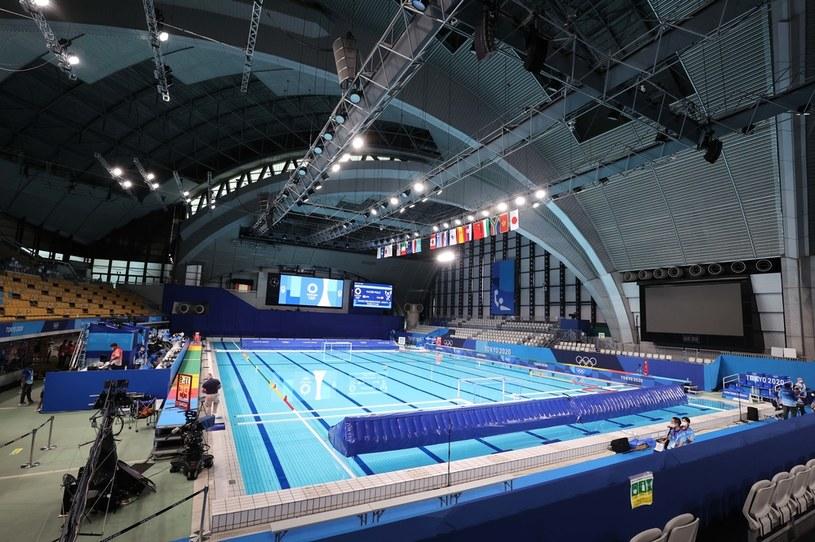 basen, na którym rywalizują zawodnicy piłki wodnej /AFLO/NEWSPIX.PL /Newspix