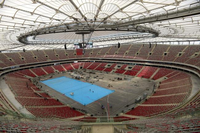 Basen na Stadionie Narodowym /Bartłomiej Zborowski /PAP