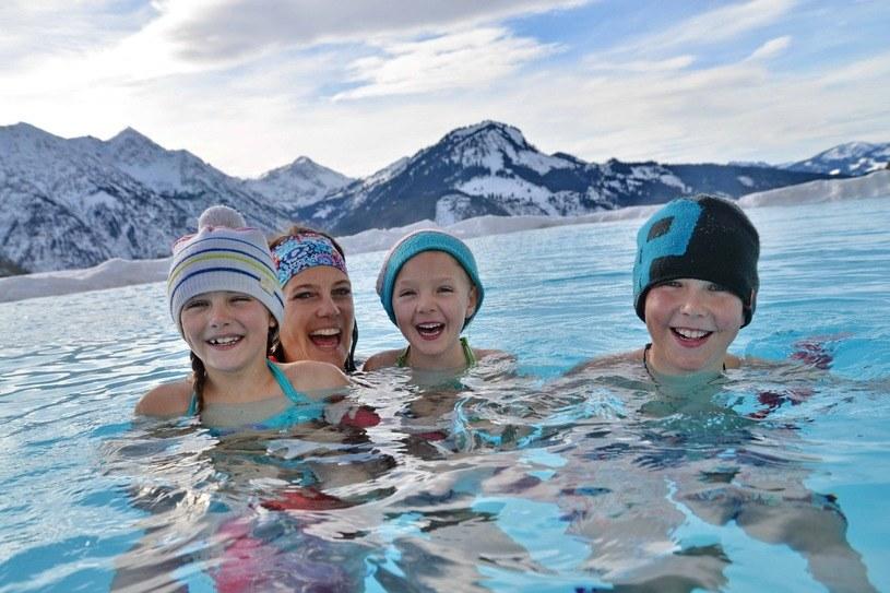 Basen w hotelu Alpenrose w Lermoos (Tyrol) /fot. Family Hotel & Resort Alpenrose /&nbsp