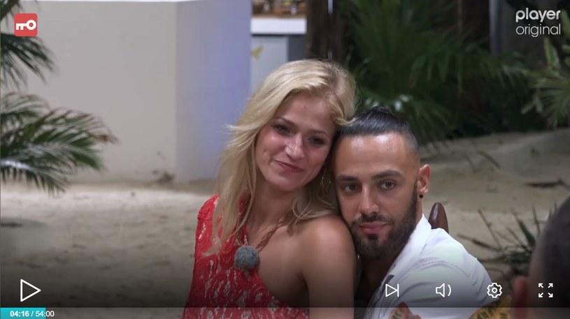 "Basia i Krystian z ""Hotelu Paradise"" /player.pl /TVN"