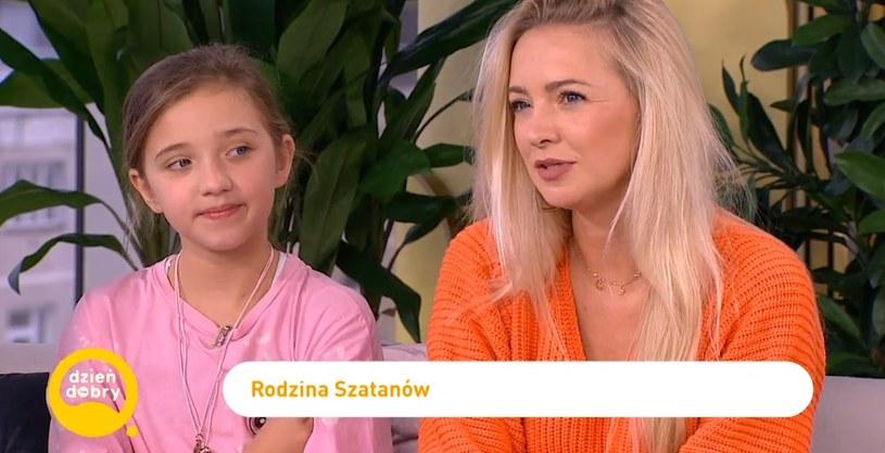 Basia Kurdej-Szatan z córką Hanią /materiał zewnętrzny