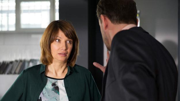 Basia nie może wybaczyć Krzysztofowi, że kolejny raz ją oszukał... /TVN