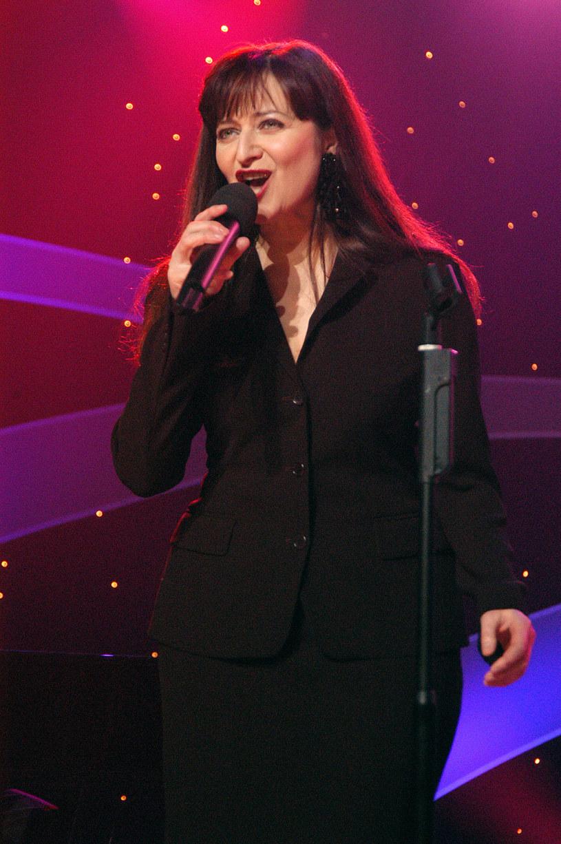 Basia Trzetrzelewska, 2005 rok /Prończyk /AKPA