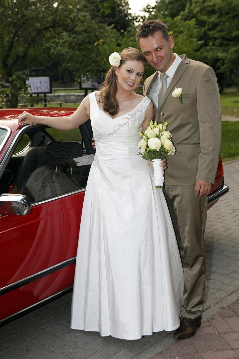 Basia w dniu ślubu /- /AKPA